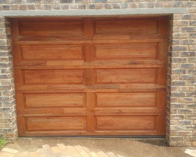 Gothic Garage Doors 10 Panel Single Wooden Garage Doors