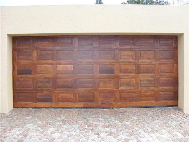 40 panel double meranti magnificent doors - Double wooden garage doors ...