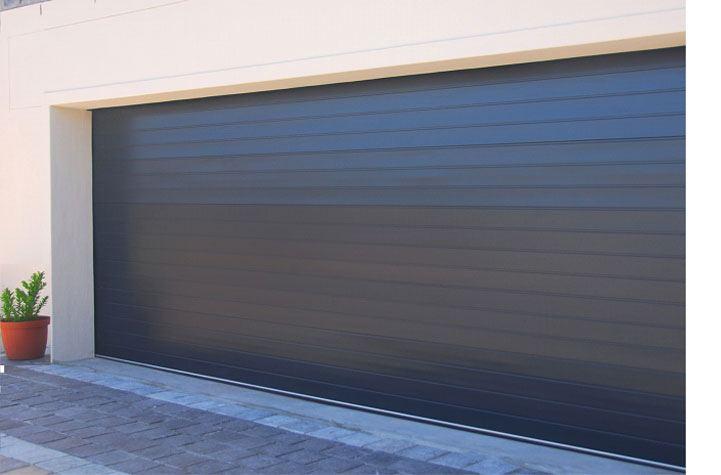 Double Charcoal Aluminium Magnificent Doors