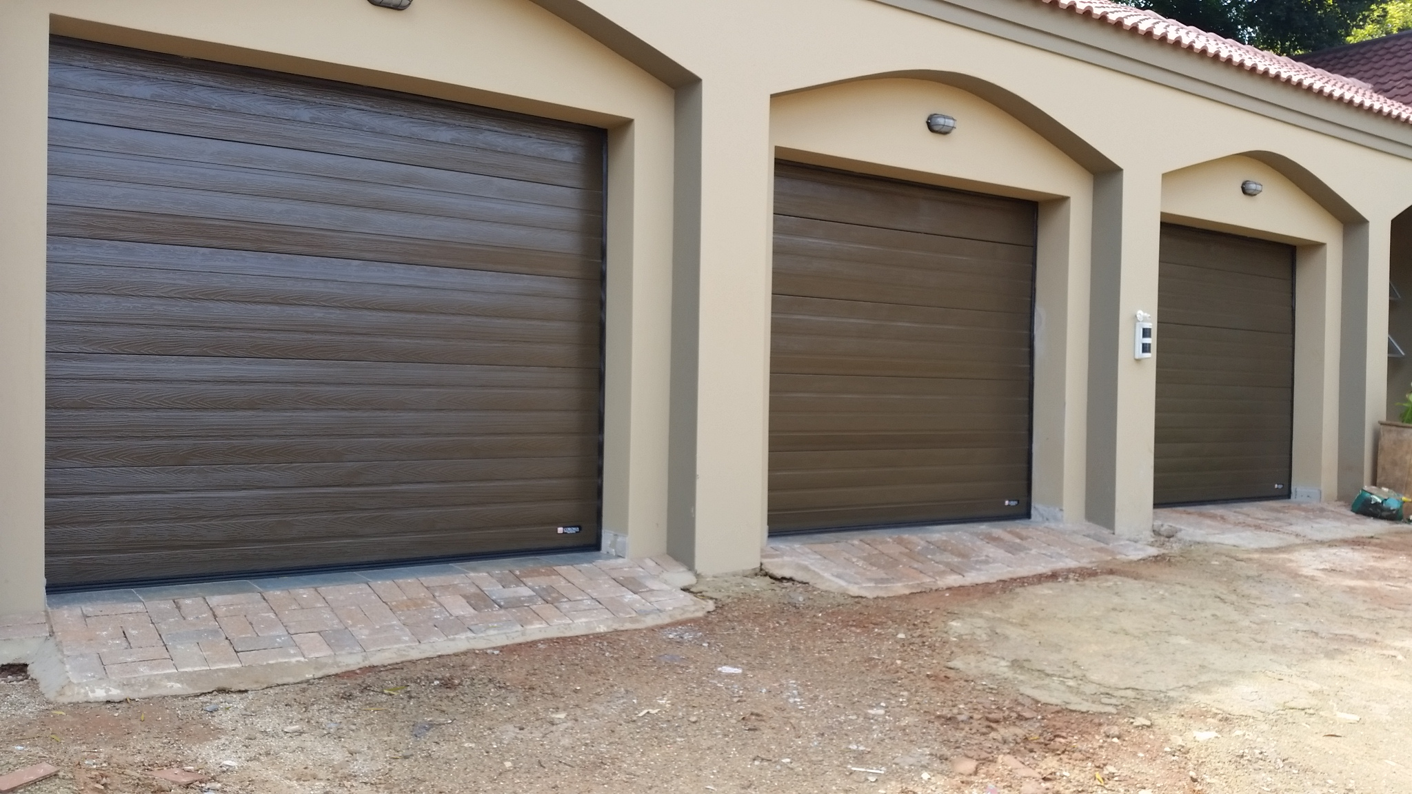 timber horizontal embossing door lines added a style groove doors with very contour give residential look the blenheim tongue strength woodgrain product garage and img popular for nelson
