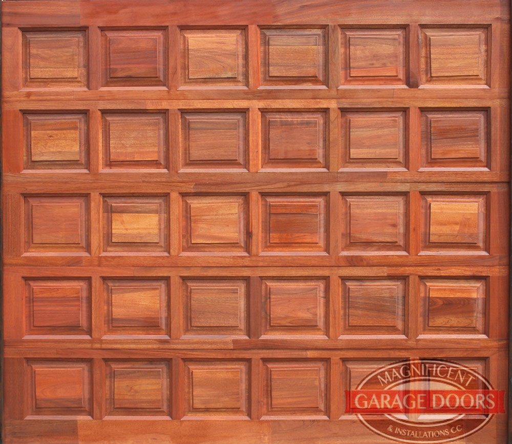30 Panel Single Meranti Garage Door Magnificent Garage Doors