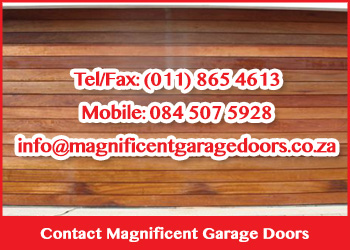 Contact Magnificent Garage Doors