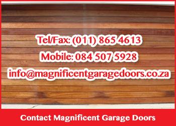 Contact Magnificent Garage Doors
