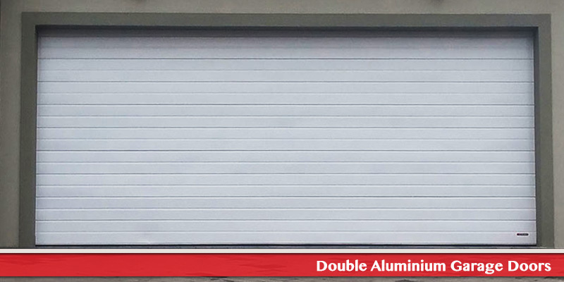 Double Aluminium Garage Doors
