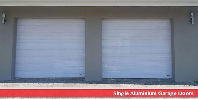 Single Aluminium Garage Door