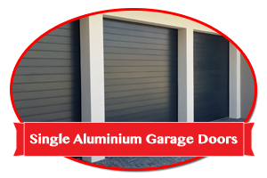 Single Aluminium Garage Doors