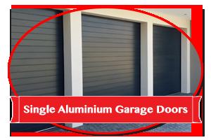 Single Aluminium Garage Doors