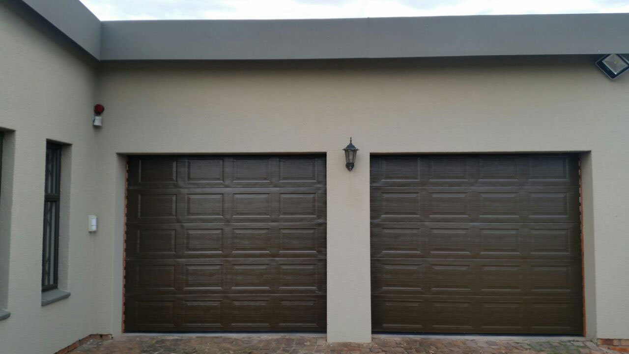Bronze Steel Garage Doors
