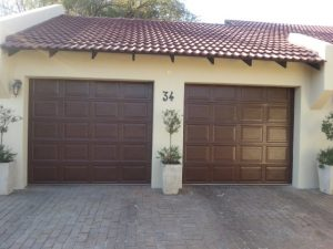 Buffalo Brown Steel Garage Doors