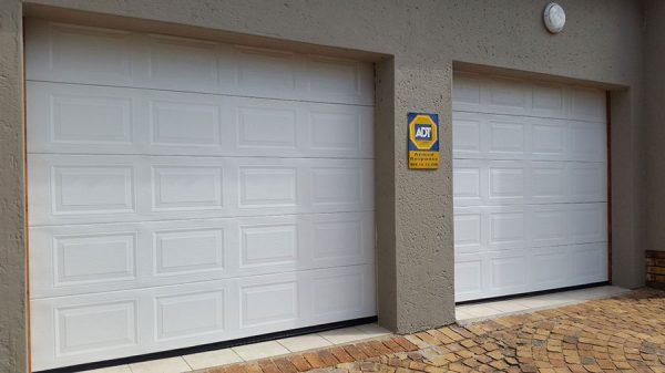 White Steel Garage Doors