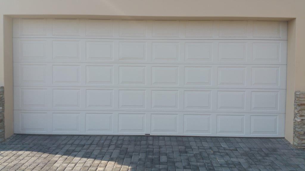 White Steel Garage Doors