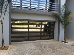 Aluminium door with Framed Glass Panels Garage Doors