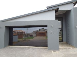Frameless Glass Aluminium Garage Door