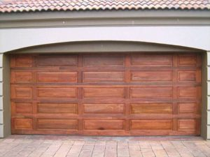 Double Tuscan Garage Doors