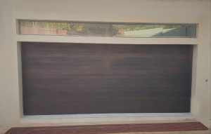 Double Solid (Non-jointed) Slat Stained Dark